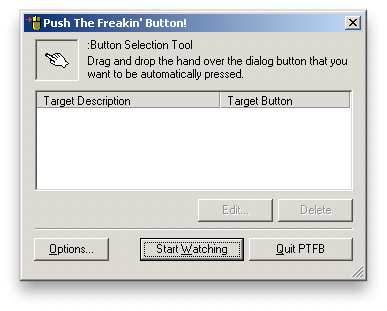 PTFB Push That Freaking Button: Waiting
