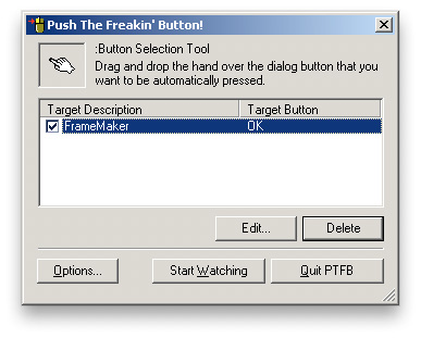 PTFB Push That Freaking Button: New Item